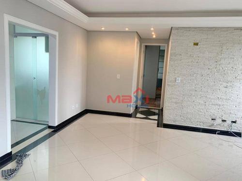 Apartamento 69 M², 2 Dormitórios, 1 Suite, 1 Vaga, Condomínio Central Park Home, Km 18, Osasco. - Ap0529