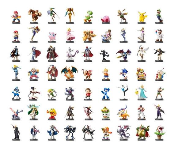 Qualquer Amiibo À Sua Escolha Kit C/ 4 Cards + De 150 Opções