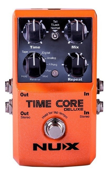 Time Core Deluxe Nux ( 7 Delays + Loop + Tap Tempo )