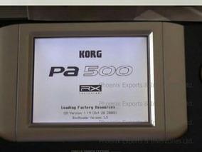 Display+touch Screen+plaquinha Do Display Teclado Korg Pa500