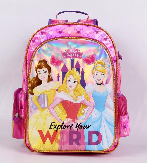 Mochila Costas G Disney Princesas Explore Your World