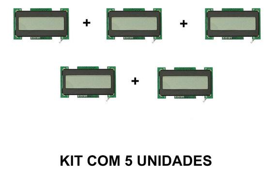 Horímetro Display Lcd Contador De Horas Enm T1101 Ab Kit 5