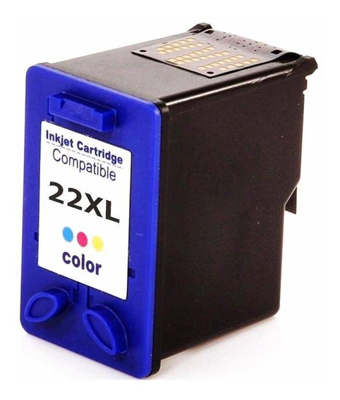 Cartucho Compativel Com Hp 22xxl Colorido Co022 Multilaser