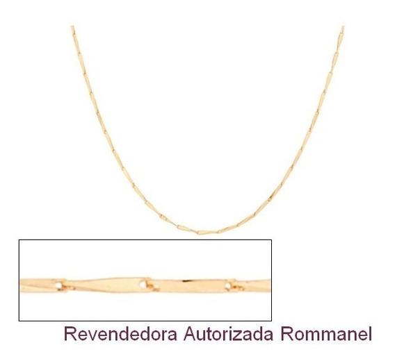 Corrente 70 Cm Folheada A Ouro Rommanel 531839