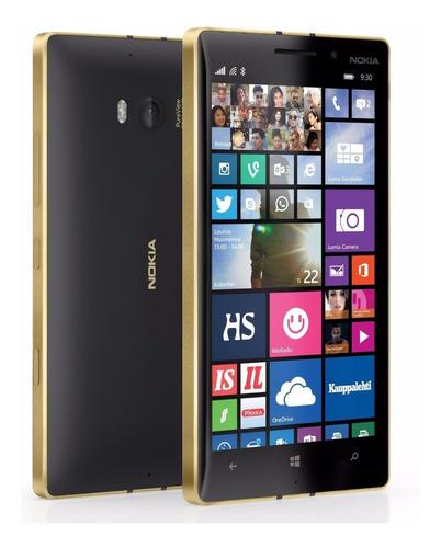 Lumia 930 Blackgold 18k Special Edition 20mp, Qd-core 2,2ghz