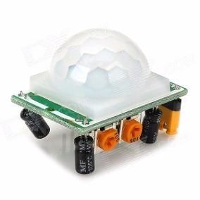 Sensor De Movimento Presença Pir + Cabos Jumper Premium M-f
