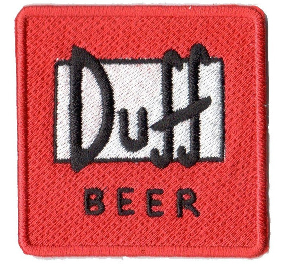 Patch Talysma P/ Camiseta Blusa - Simpsons Cerveja Duff Beer