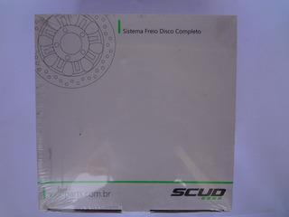 Sistema De Freio Disco Completo Titan 150 09 Es - Scud