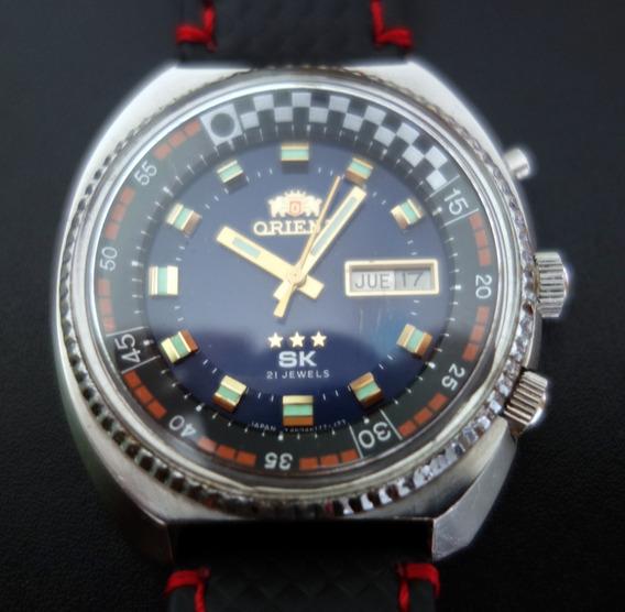 Relógio Orient Sk 3 Estrelas - Race - Calibre 46941 - Raro