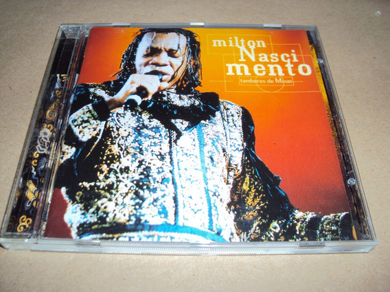 Milton Nascimento - Tambores De Mi - Cd Made In Germany 1998