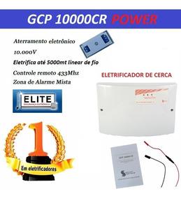 Central De Cerca Elétrica E Alarme Gcp 10000 Cr Power
