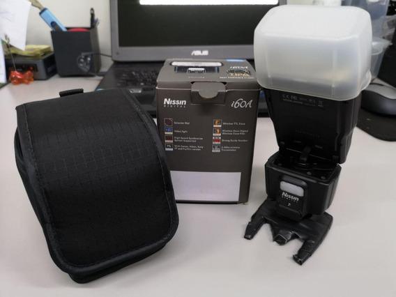 Flash Nissin I60a P/ Fujifilm + Commmander (firmware 9 / 6)
