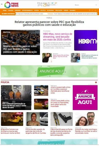 Portal De Notícias V3 Administrável 2020