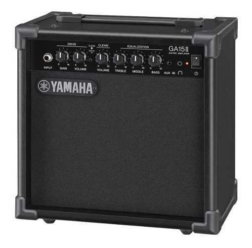 Cubo Amplificador Guitarra Ga15ii 15w Rms Grave Médio Yamaha