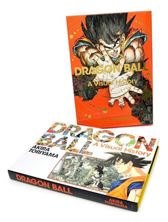 Dragon Ball Ilustraciones Artbook Visual History- A Toriyama
