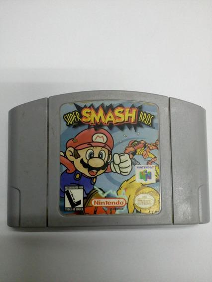 Cartucho Original - Super Smash Bros - Nintendo 64
