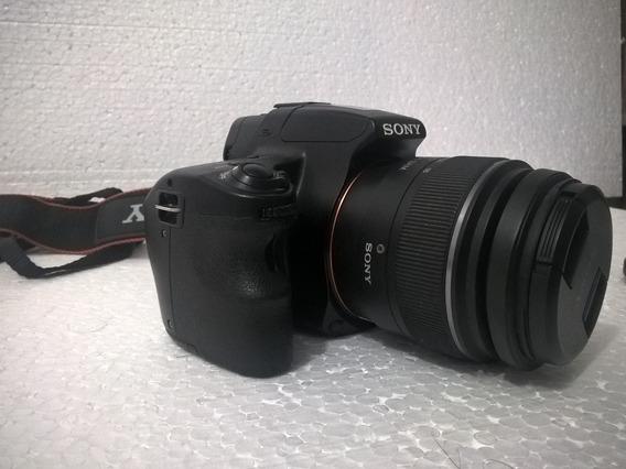 Camera Sony A37 + Lente 18-55mm No Estado Erro De Camera