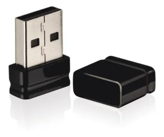 Pen Drive Nano 16gb Usb Leitura Preto Multilaser