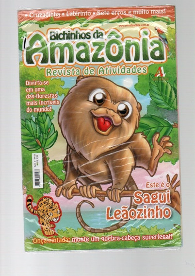 Livro Bichinhos Da Amazonas Revista De Atividades ,lacrada.