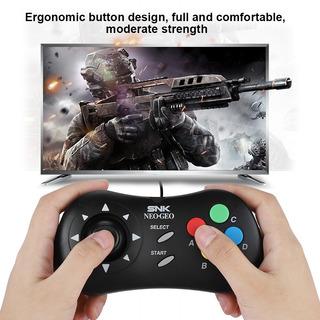 Mini Wired Gamepad Jogo Console Controlador Para Snk Neogeo