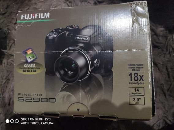 Máquina Fotográfica Fujifilm Finepix S2980 Semi Profissional