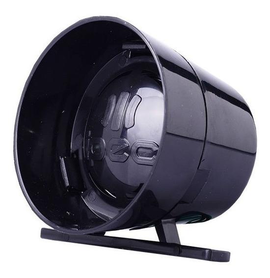 Sirene Piezoeletrica 12v Ipec Para Alarmes E Cerca Eletricas