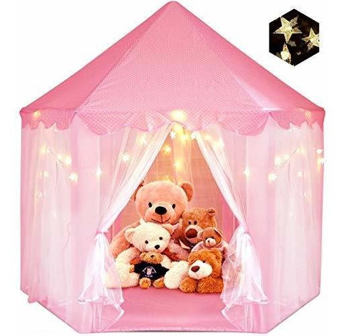 Zuosen Tienda De Campaña Grande Para Niñas Con Luces Led De