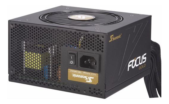 Fuente Seasonic Gm-750 Real Focus 750w 80+gold Semi Modular