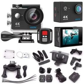 Câmera De Ação Eken H9r 4k Controle + Case + 2 Baterias
