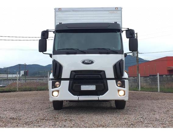 Ford Cargo 2429 Ano 2013 Com Baú De 9.00 Mt