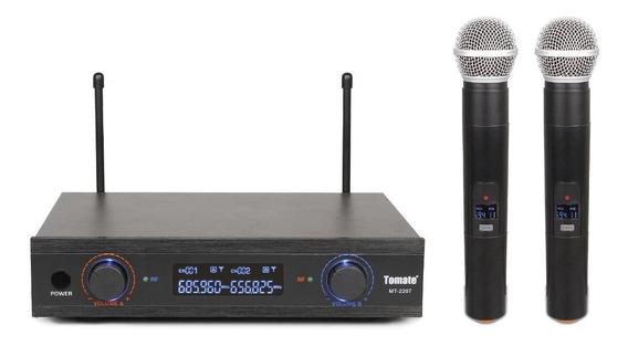 Kit de microfones Tomate MT-2207