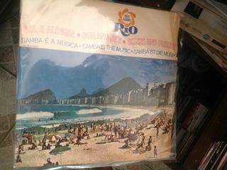 Vinil Lp Rio Sol E Alegria - O Samba É A Musica