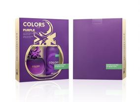 Kit Feminino Benetton Colors Purple Perfume & Desodorante