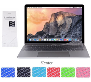 Protector Teclado Macbook Pro Cd Air White 13 15 17 Español