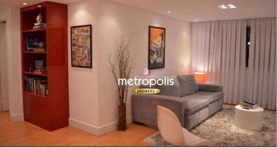 Apartamento Com 2 Dormitórios À Venda, 83 M² Por R$ 426.000 - Santa Paula - São Caetano Do Sul/sp - Ap2329