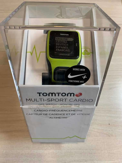 Relógio Gps Tomtom Multi-sport Cardio Runner Spark
