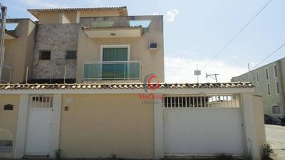Casa Triplex Com 4 Quartos Sendo 1 Suíte, Perto Da Rodovia E Comércios - Ca1813
