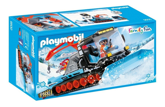 Playmobil 9500 Retroescavadeira De Neve Family Fun
