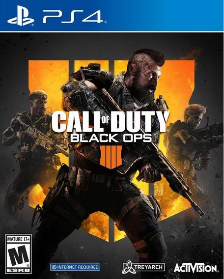Call Of Duty Black Ops 4 Ps4 100% Português Novo Lacrado