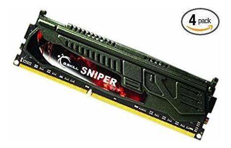 G. Skill Sniper Series 32 Gb (4 X 8 Gb) 240-pin Ddr3 Sdram D