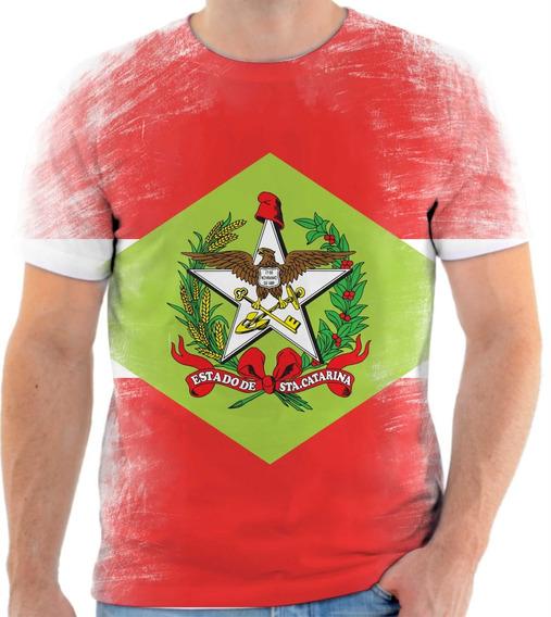 Camiseta, Camisa Estado De Santa Catarina 2