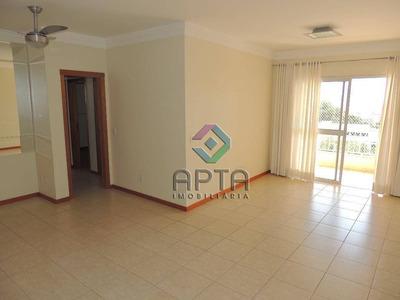 Apartamento Residencial À Venda, Bosque Das Juritis, Ribeirão Preto. - Ap1117