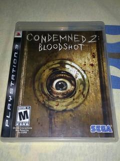 Condemned 2:bloodshot Playstation 3