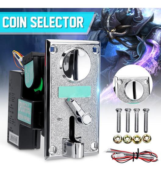 Multi-coin Acceptor Selector De Plástico Electrónico Avanzad