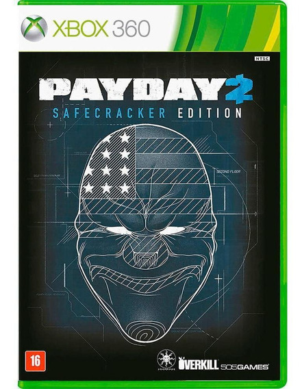 Jogo Midia Fisica Payday 2 Safecracker Edition Para Xbox 360