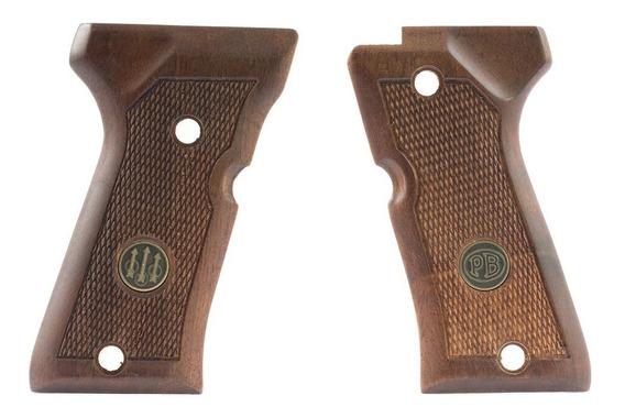 Cachas Madera Beretta 92fs Compact Wood Grips Originales