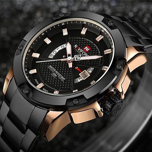 Relógio Esportivo Militar Casual Quartzo Impermeável