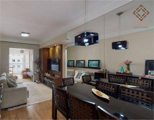 Apartamento Para Compra Com 2 Quartos E 1 Vaga Localizado Na Vila Olímpia - Ap54170