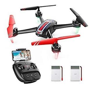 Snaptain Sp660 Fpv Rc Drone Con Cámara, 720p Hd Wifi Live V