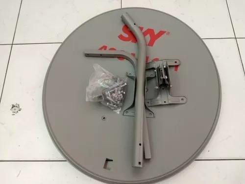 6 Antenas Lnb Duplo 60cm Ku - Completas Promoção